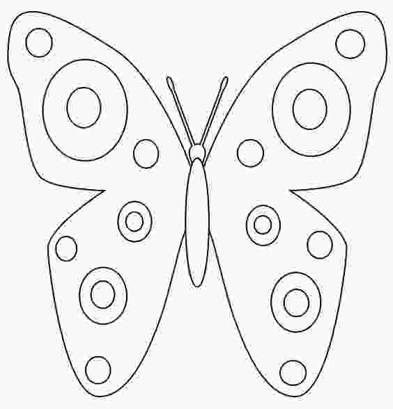 cartoon print outs butterfly template printable spring butterfly coloring