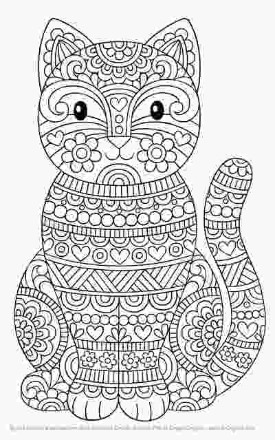 cat mandala coloring pages hottest new coloring books april 2018 roundup cleverpedia