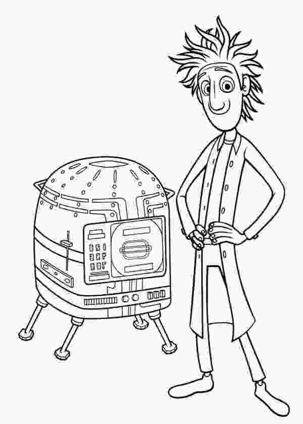 cloudy with a chance of meatballs coloring pages cloudy with a chance of meatballs coloring page at 3