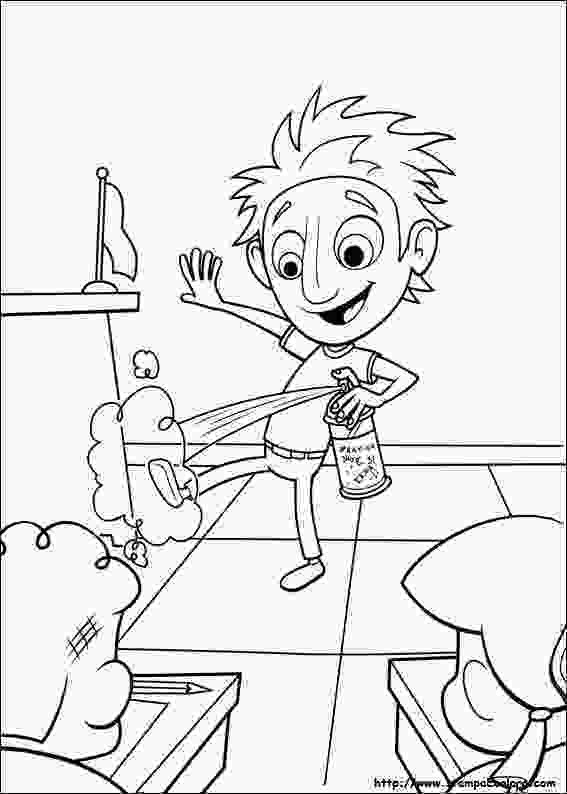 cloudy with a chance of meatballs coloring pages disegni de piovono polpette