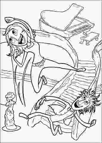 cloudy with a chance of meatballs coloring pages happy flint and sam coloring page free printable