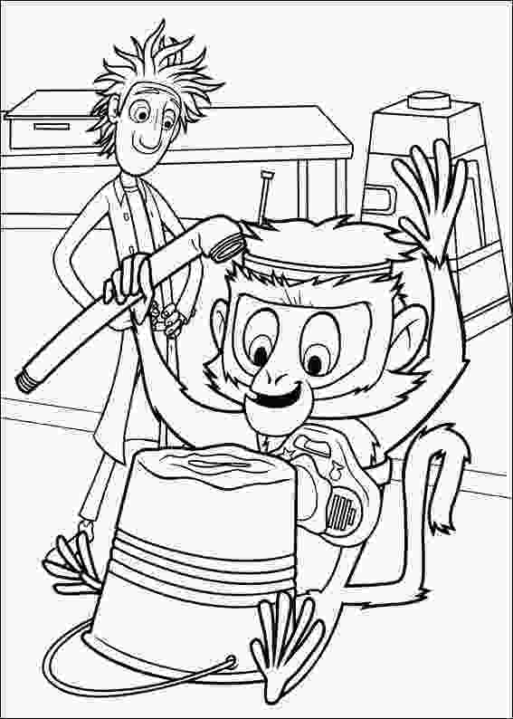 cloudy with a chance of meatballs coloring pages krafty kidz center cloudy with chance of meatball