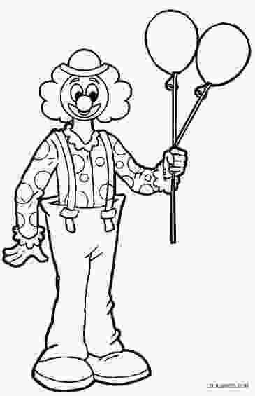 clown coloring pages printable clown coloring pages for kids cool2bkids