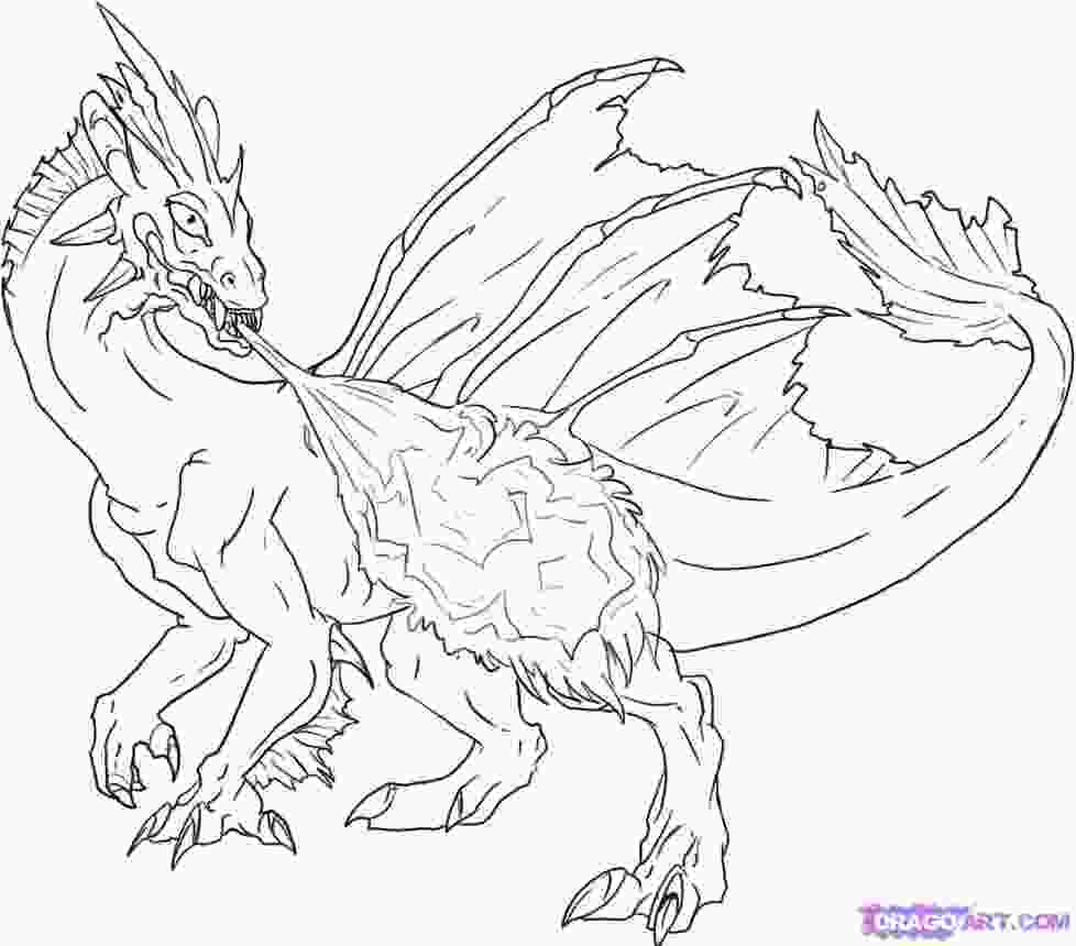 coloring dragon colour coloring pages how to draw a red fire breathing dragon step by step dragons draw a