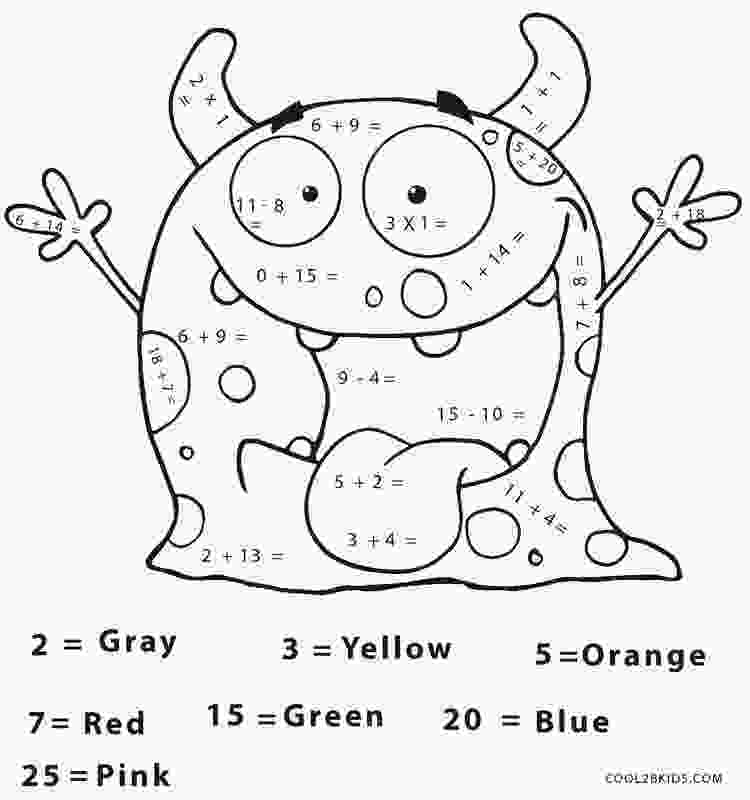 coloring for grade 2 free printable math coloring pages for kids cool2bkids 1