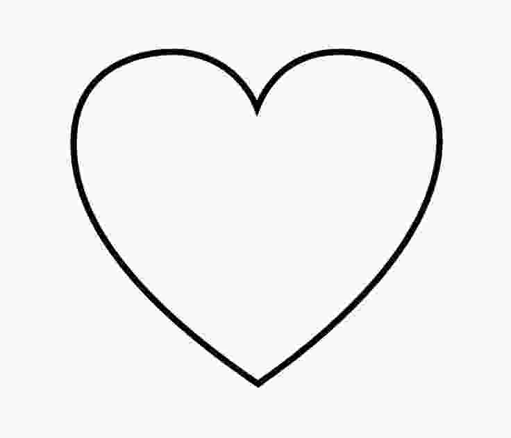 coloring heart shape heart shaped coloring pages tryonshortscom hearts