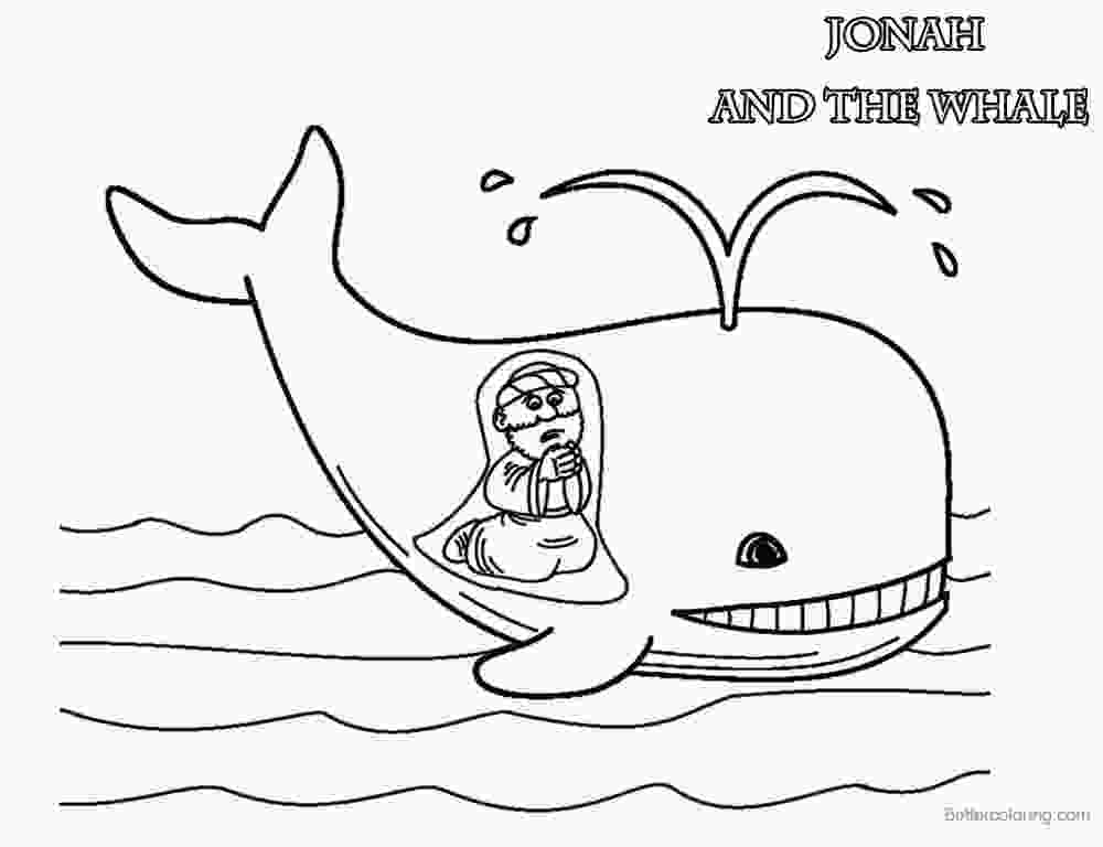 coloring jonah cute coloring pages of jonah and the whale free