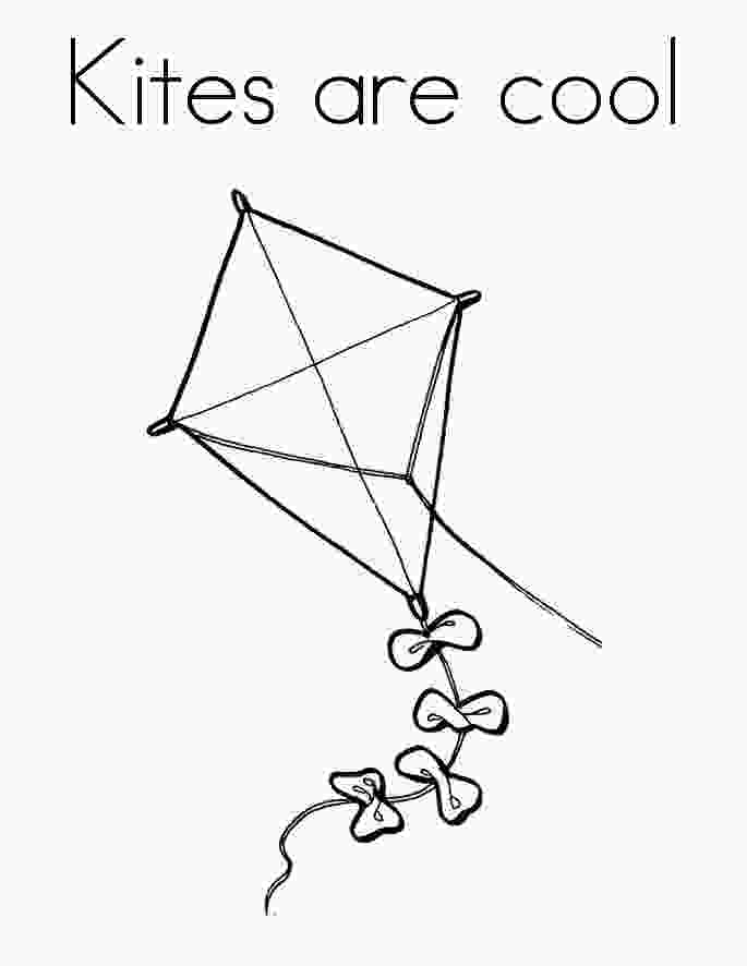 coloring kite free printable kite coloring pages for kids