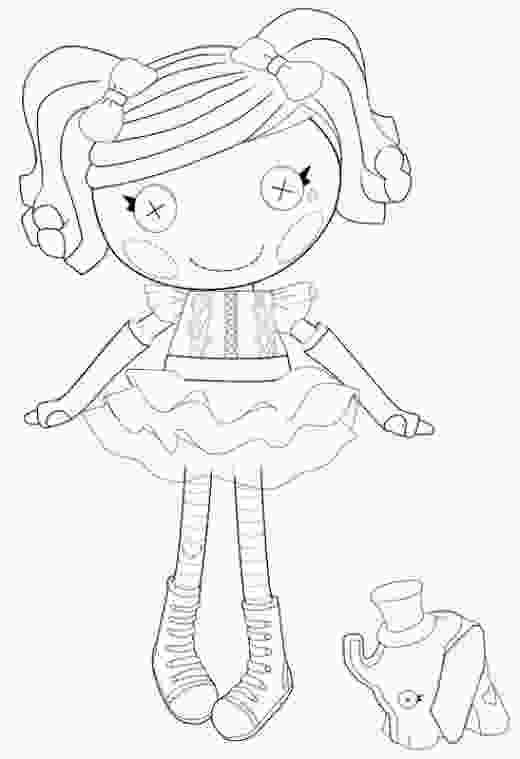 coloring lalaloopsy the best lalaloopsy dolls coloring pages