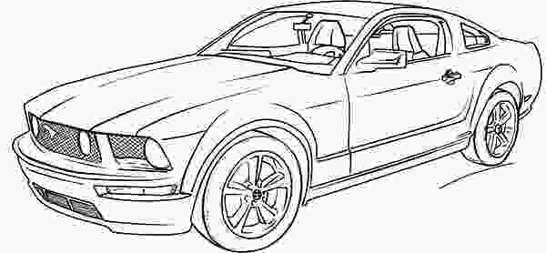 coloring mustang ford mustang car coloring pages coloring pages cars