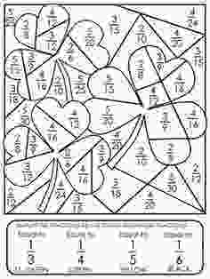 coloring pages 4th grade equivalent fractions worksheetsthese coloring sheets