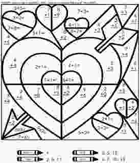 coloring pages 4th grade math coloring pages 3rd grade add ten valentine math