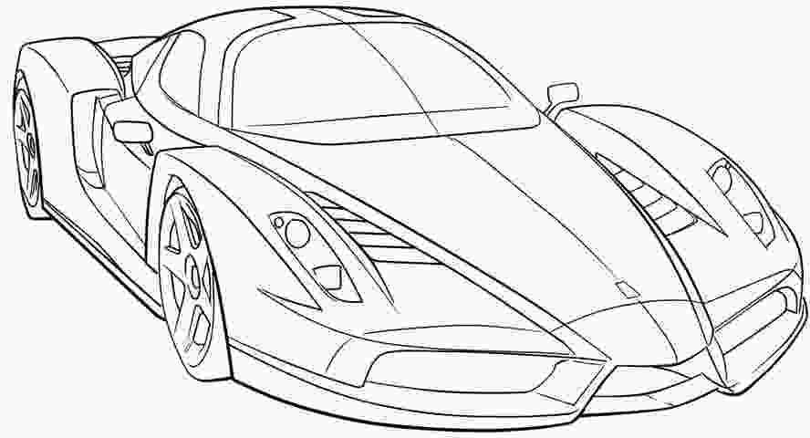 coloring pages ferrari ferrari sport car high speed coloring page ferrari car