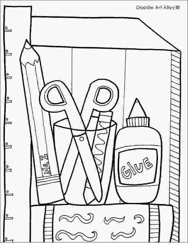 coloring pages of school supplies 19 school supplies coloring pages anime wedding couple