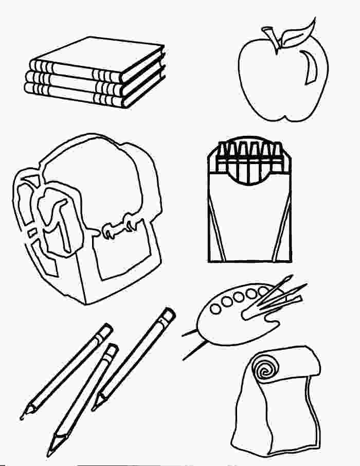 coloring pages of school supplies back to school coloring pages best coloring pages for kids