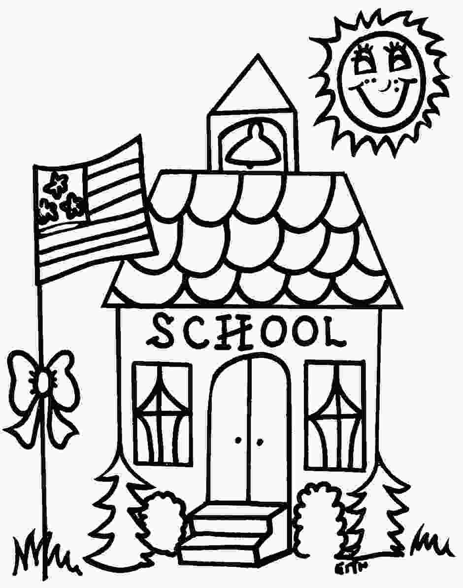 coloring pages of school supplies school supplies coloring pages clipart panda free 1
