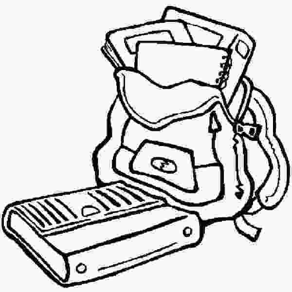 coloring pages of school supplies school supplies coloring pages clipart panda free