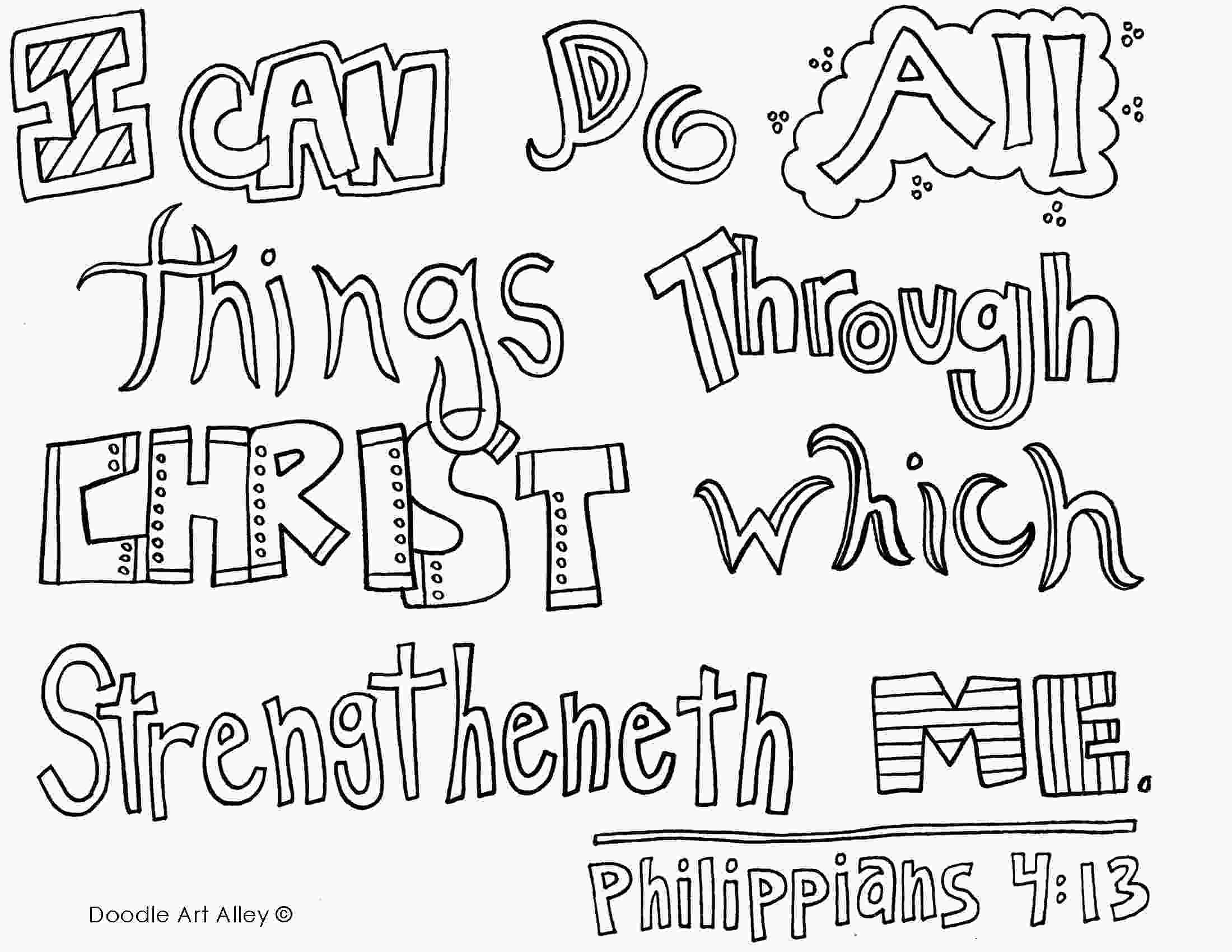 coloring sheet philippians 4 13 coloring page phil 413 coloring page doodle color amp draw bible