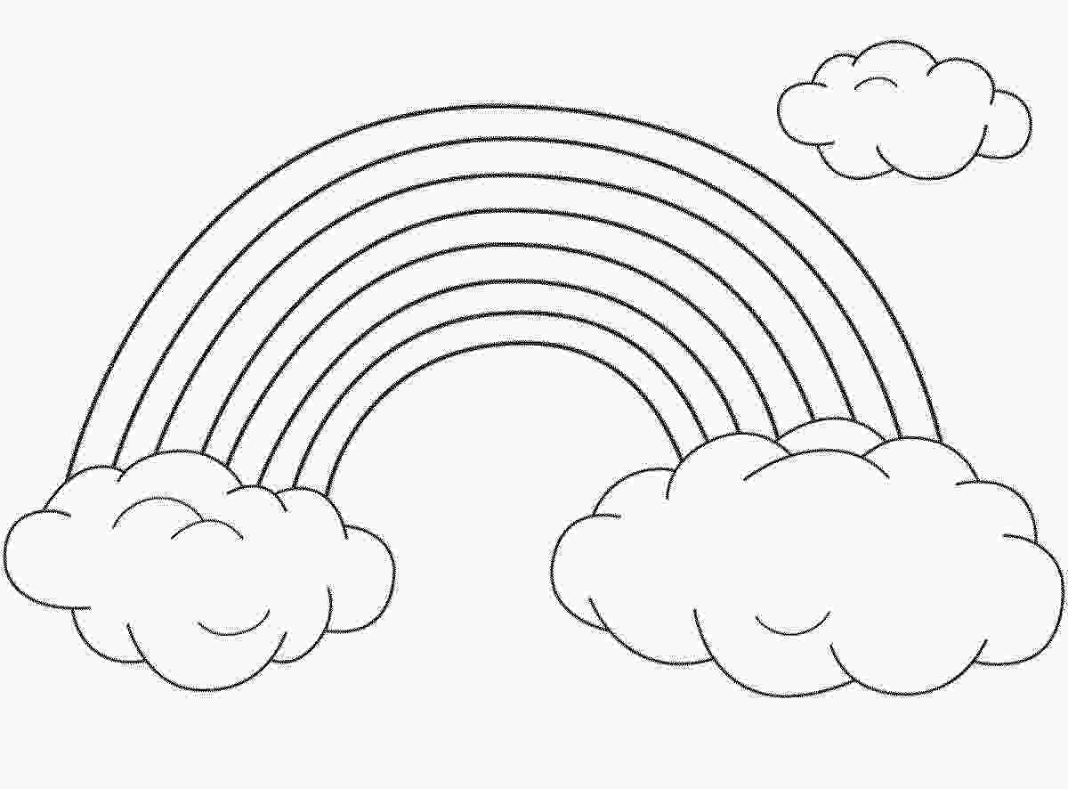 coloring sheet rainbow coloring page rainbow coloring pages for childrens printable for free