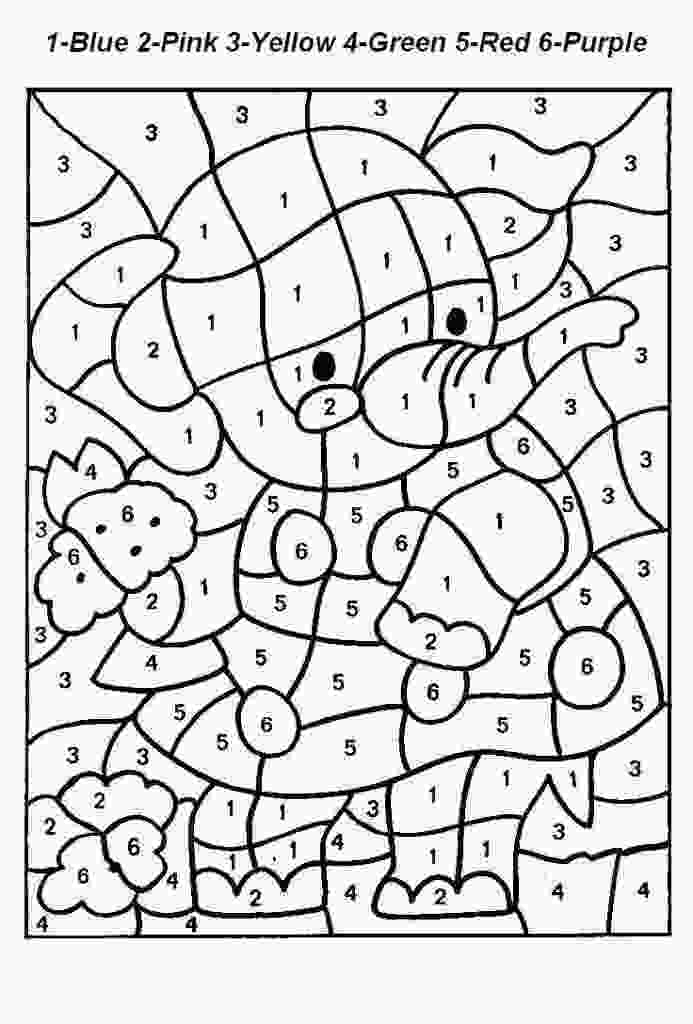 coloring sheets numbers free printable color by number coloring pages best 2