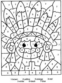 coloring sheets numbers free printable color by number coloring pages best