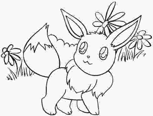 cute eevee coloring pages beautiful eevee coloring page of pokemon