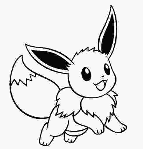 cute eevee coloring pages unique pokemon eevee evolutions coloring pages images
