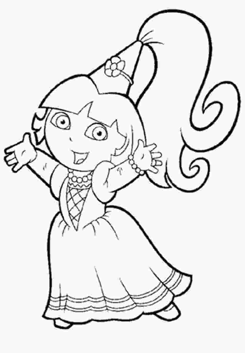dora colouring pages printable dora coloring pages only coloring pages