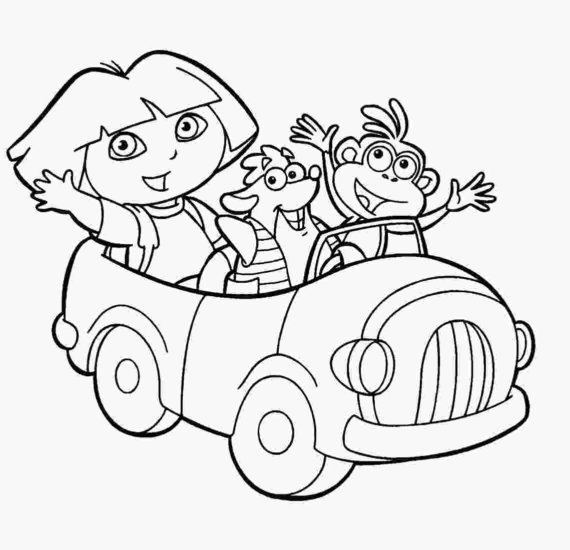 dora colouring pages printable dora the explorer coloring pages minister coloring