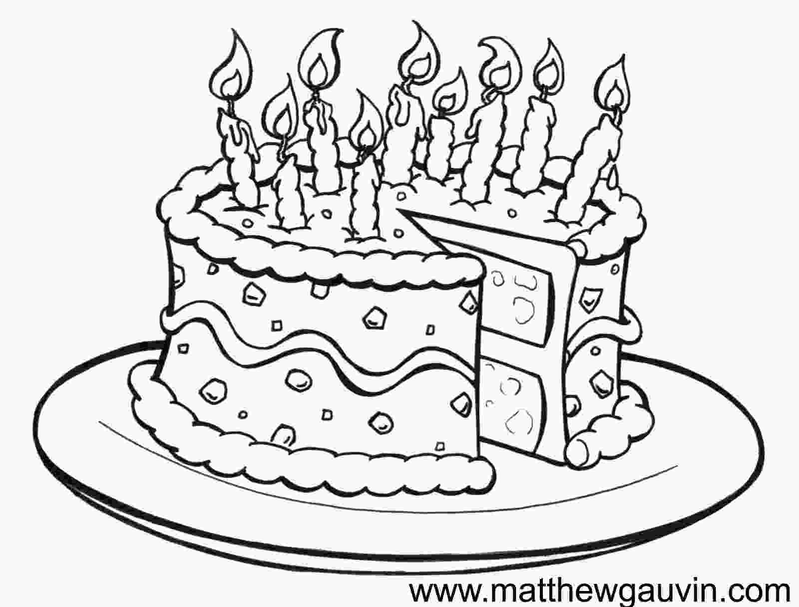 draw cake birthday drawings mg childrens book illustrations