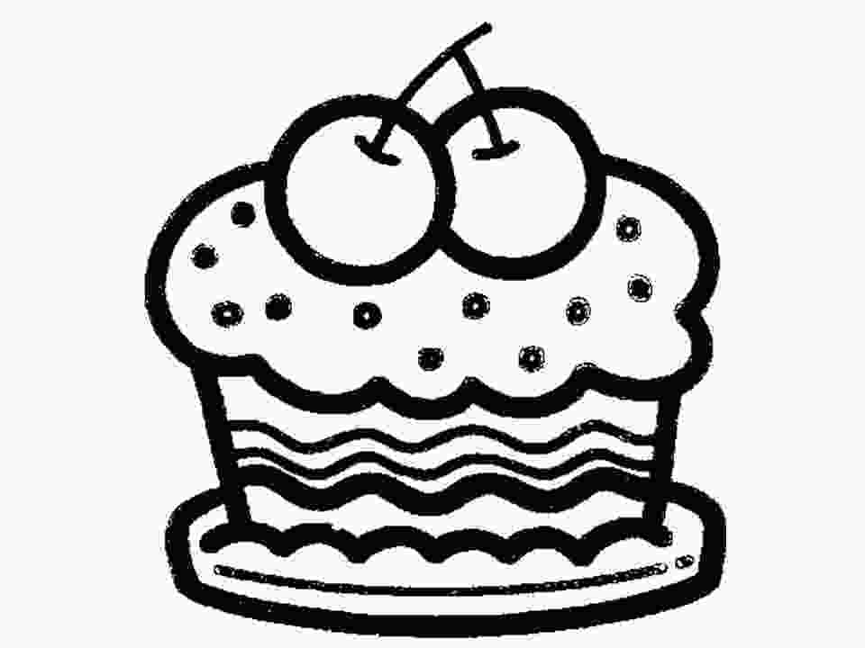 draw cake cartoon birthday cake pictures clipart best
