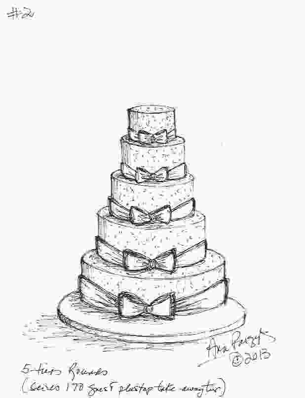 draw cake for the love of cake by garry amp ana parzych making of a