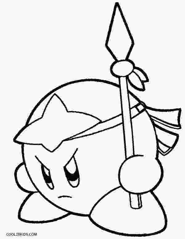 draw kirby printable kirby coloring pages for kids cool2bkids