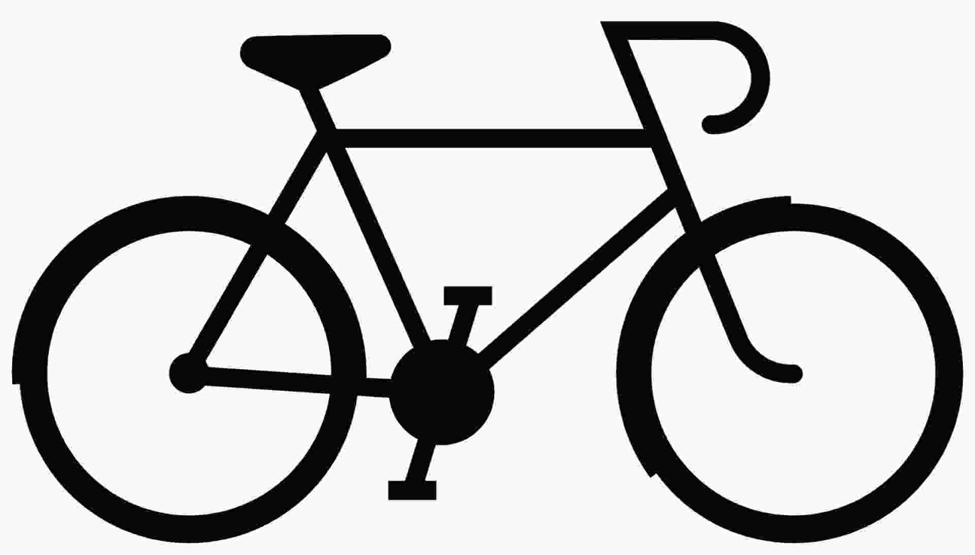 easy to draw bike simple bicycle drawing at paintingvalleycom explore