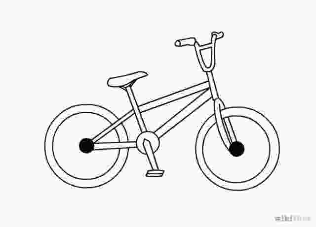 easy to draw bike the 25 best bicycle drawing ideas on pinterest bike