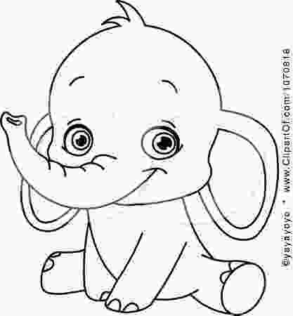 elephant coloring sheets transmissionpress baby elephant coloring pages