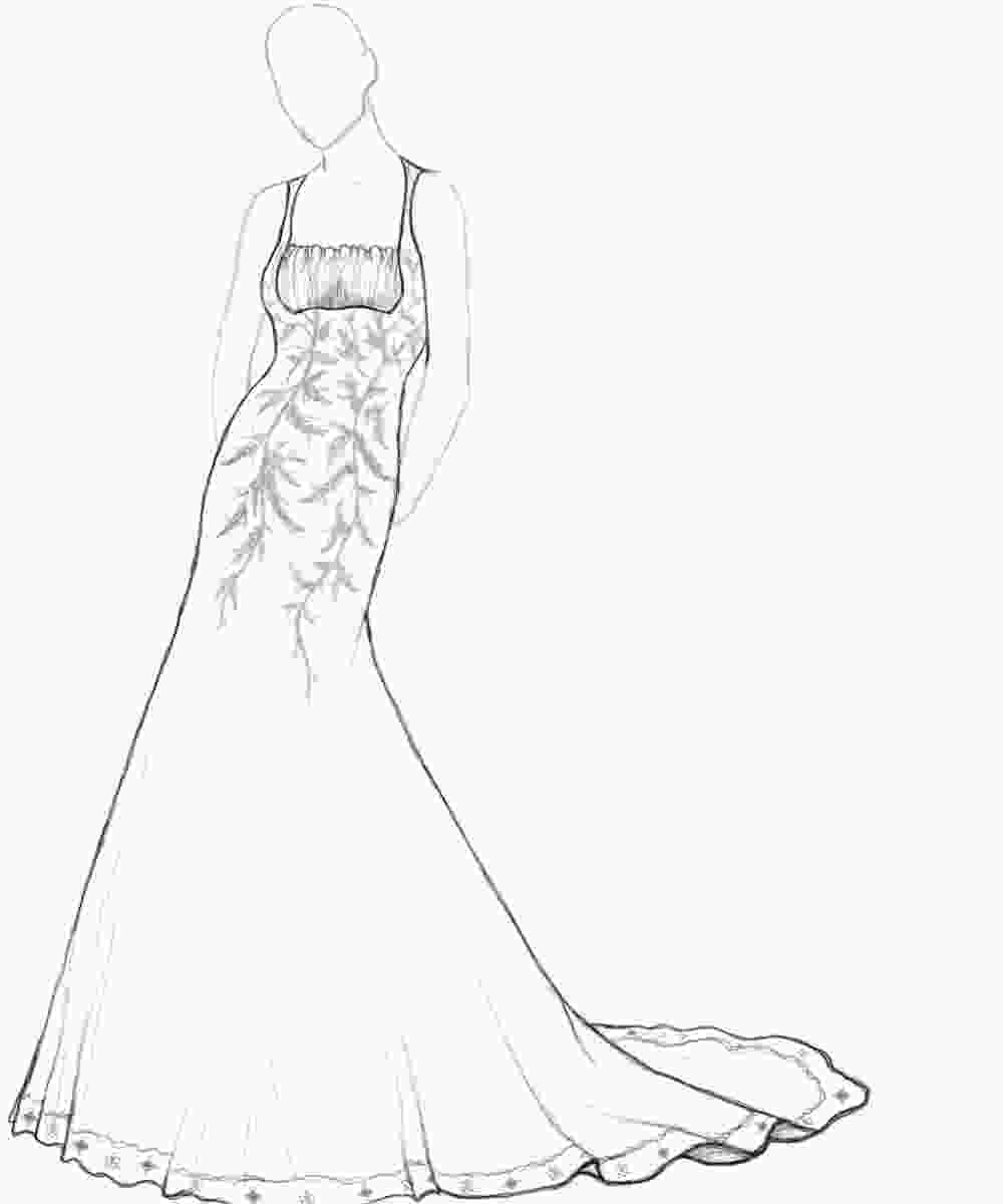 fashion designer coloring pages dress coloring pages bestofcoloringcom