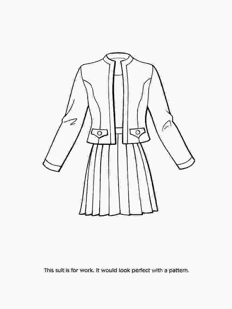 fashion designer coloring pages fashion clothes coloring pages at getcoloringscom free printable colorings pages to