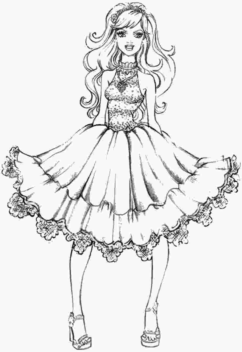 fashion designer coloring pages fashion dress drawing at getdrawingscom free for personal use fashion dress drawing