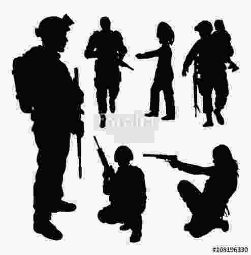 female soldier silhouette quotsoldier military security male and female silhouette good use for symbol logo