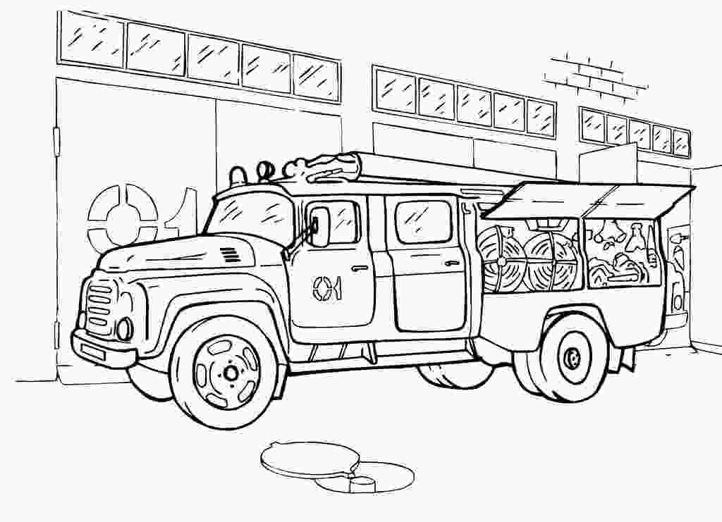 fire engine coloring page fire engine coloring pages to download and print for free