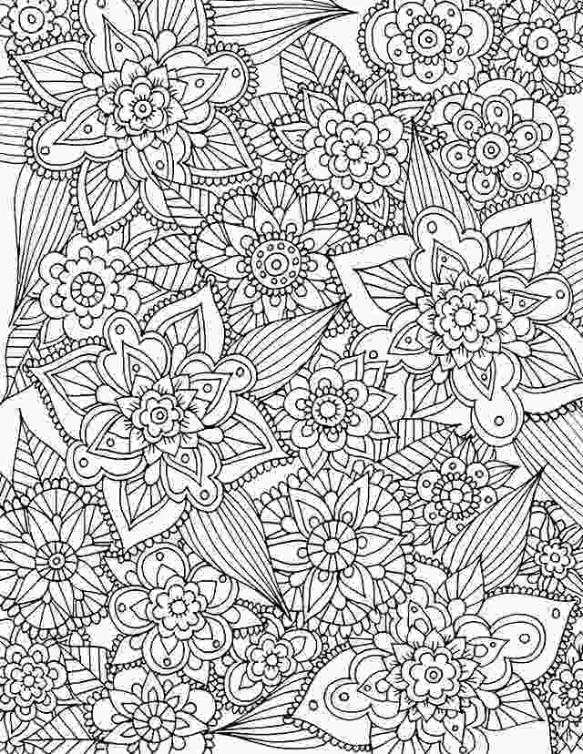 flower coloring pages printable free alisaburke free spring coloring page download adult