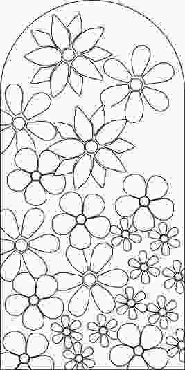 flower mosaic coloring pages image detail for inspiration pictures stylish mosaic