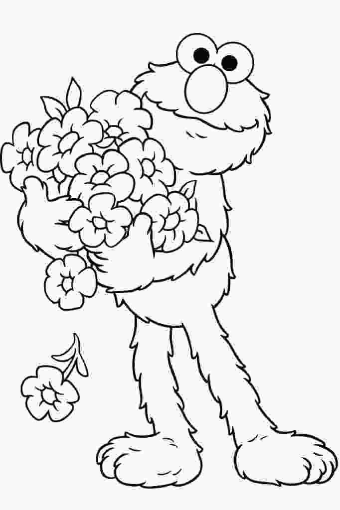 free kids coloring pages free printable elmo coloring pages for kids