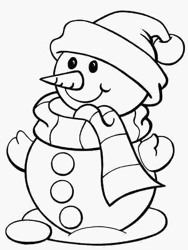 free kids coloring pages free printable snowman coloring pages for kids