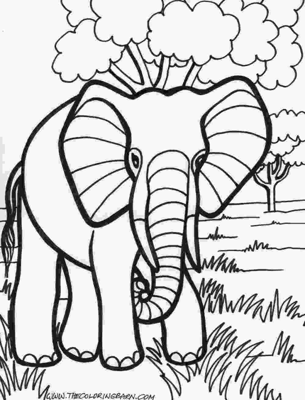 free kids coloring pages transmissionpress 14 elephant coloring pages for kids