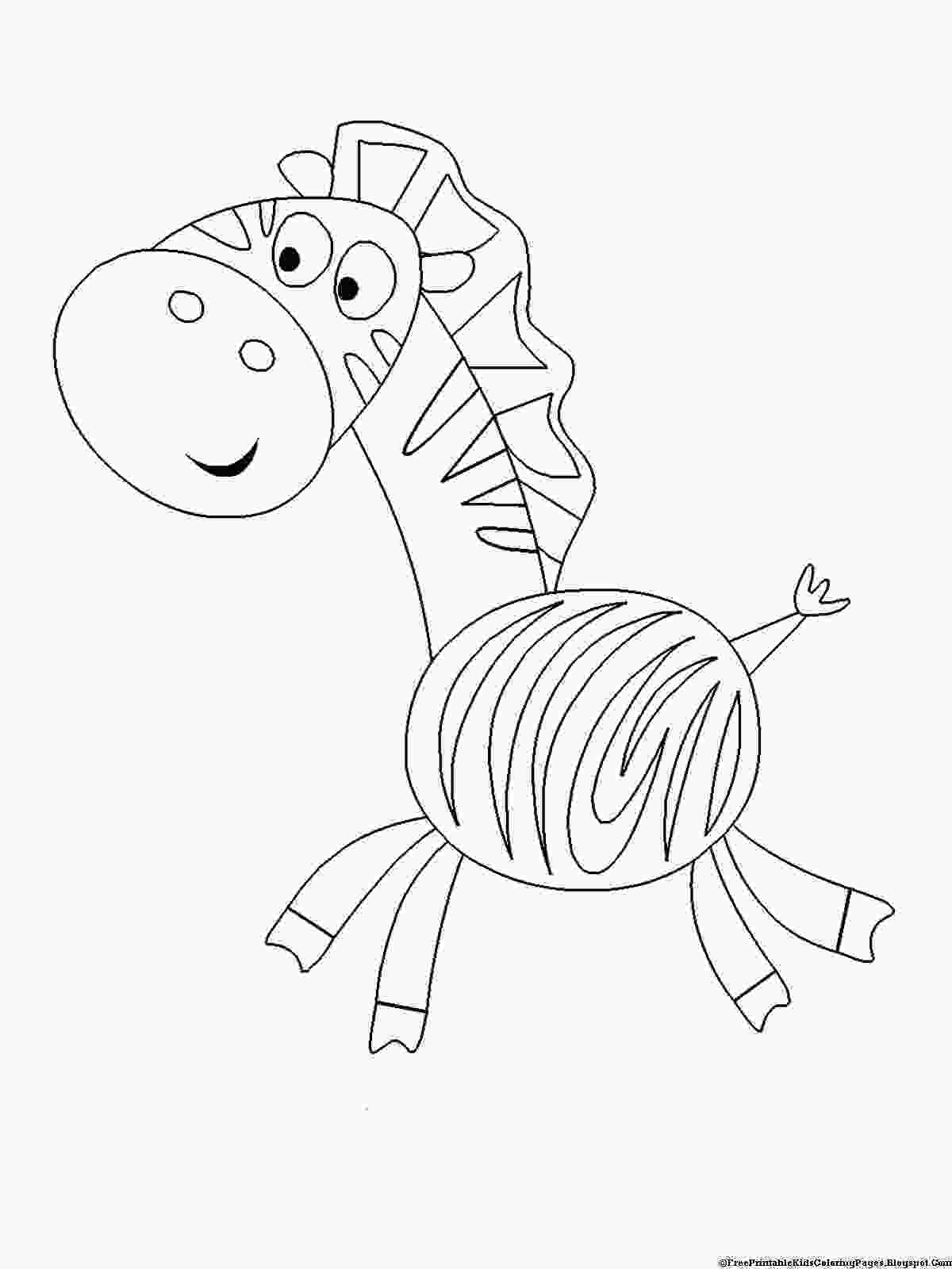 free kids coloring pages zebra coloring pages free printable kids coloring pages