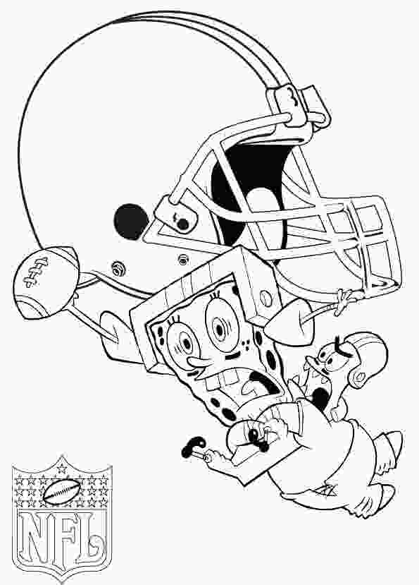 free online football coloring pages star playing football nfl coloring pages football
