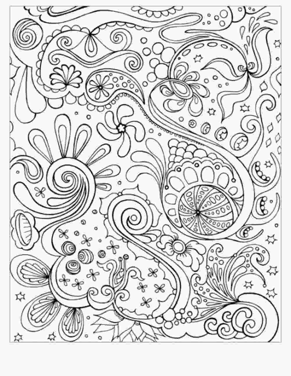 free printable abstract coloring pages abstract coloring pages for adults coloring home