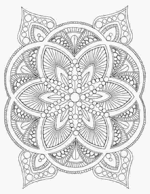 free printable abstract coloring pages abstract mandala coloring page for adults diy printable